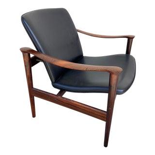 Fredrik Kayser for Vatne Lenestolfabrik Model 711 Lounge Chair For Sale