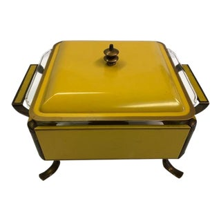 "1950s Mid-Century Modern 8"" Chafing Warmer For Sale"