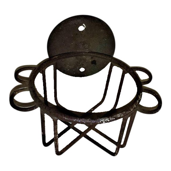 Antique Metal Wire Cup Holder - Image 1 of 5