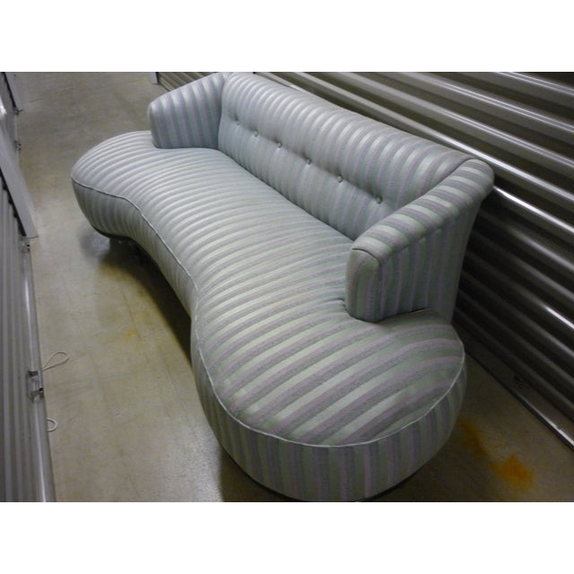 Schiaparelli-Style Stripe Sofa - Image 2 of 7