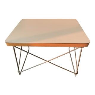 Original Vintage Eames Ltr Side Table Mid-Century Modern For Sale