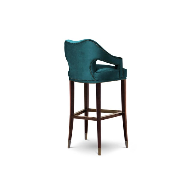 Modern Covet Paris Nº20 Counter Stool For Sale - Image 3 of 4