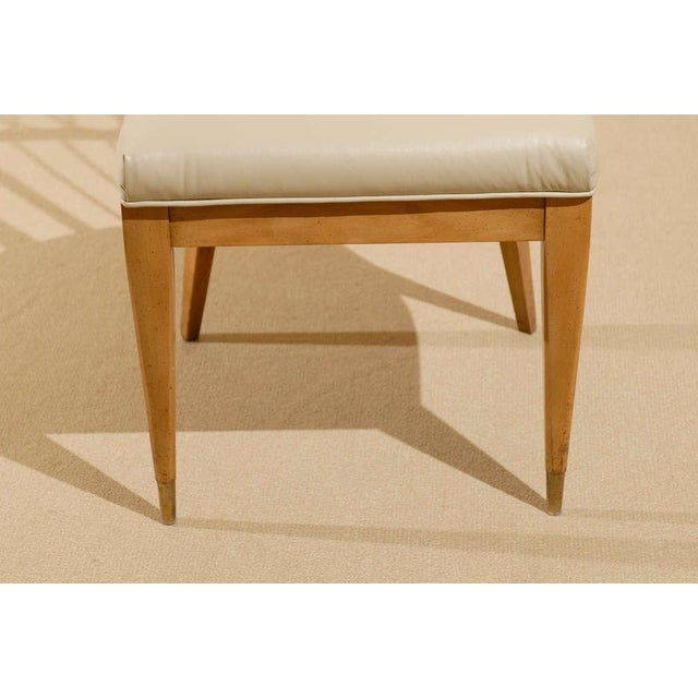 Michael Taylor Set of Four (4) Chairs in the Style of Michael Taylor For Sale - Image 4 of 11