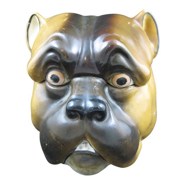 English Staffordshire Bulldog Covered Porcelain Jar - Image 1 of 9