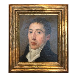 Portrait of a Gentleman Attributed to Pierre Prud'hon For Sale