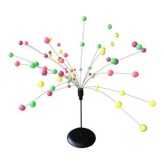 1960s Vintage Danish Kinetic Ball Sputnik Sculpture For Sale
