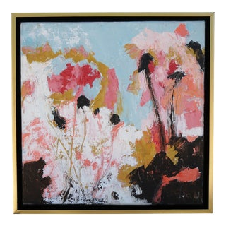 """""""Bright Future"""" Abstract Oil Painting by Laurie MacMillan, Framed For Sale"""