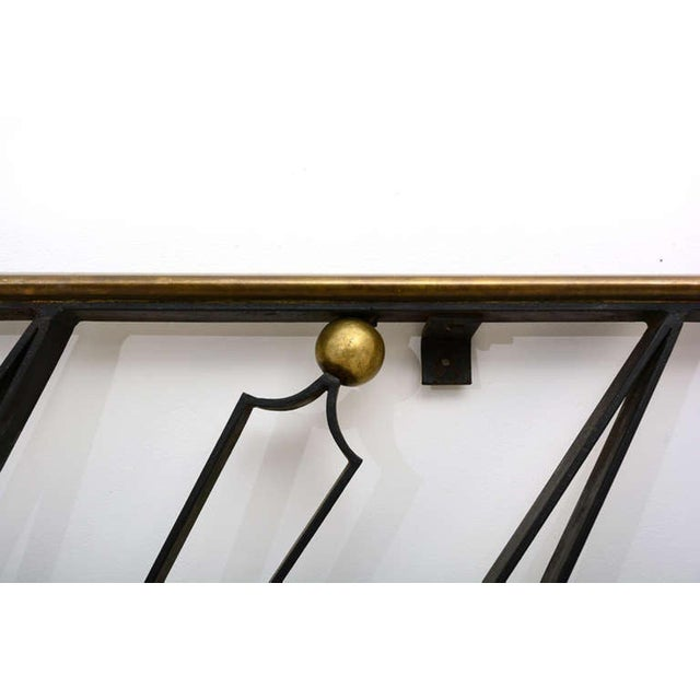 Arturo Pani Mid-Century Mexican Modernist Handrail by Talleres Chacon For Sale - Image 4 of 9