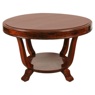 Round Rosewood Table For Sale