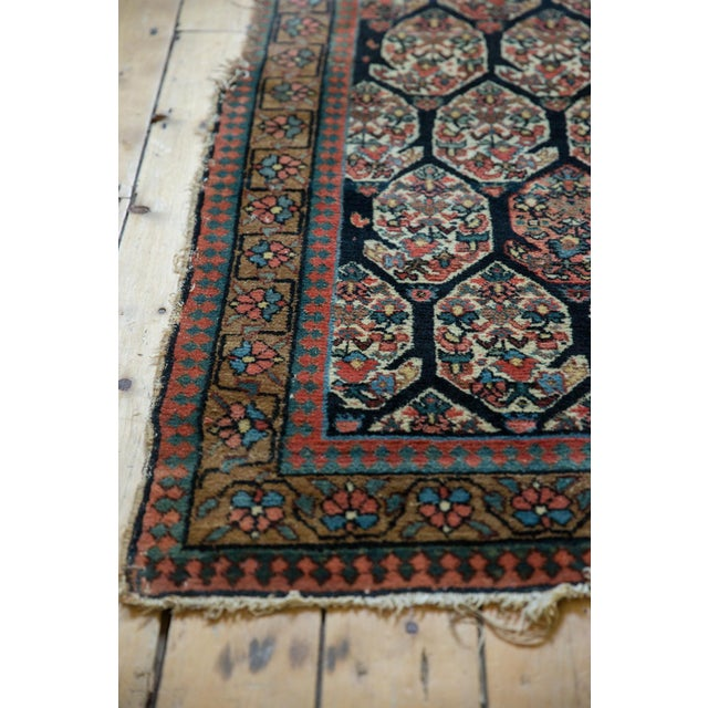 """Antique Fragment Northwest Persian Rug - 3'2"""" X 5' For Sale - Image 10 of 12"""
