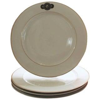 Piero Fornasetti Rosenthal Medusa Porcelain Dinner Plates - Set of 4 For Sale