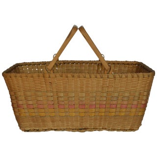Great Lakes Vintage Market Basket For Sale
