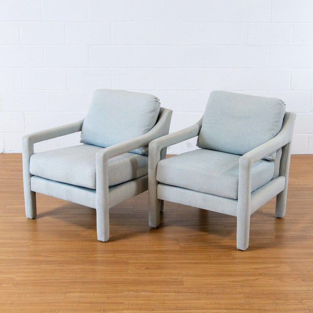 Modern Custom Armchairs by Century. Dimensions (in): 27.0 W x 39.0 D x 30.0 H.