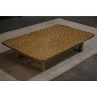 1920s Japanese Bamboo Coffee Table Preview