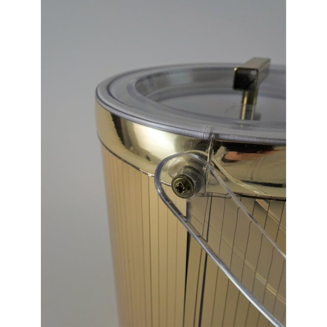 Georges Briard Mid-Century Modern Gold Ice Bucket For Sale In Seattle - Image 6 of 13