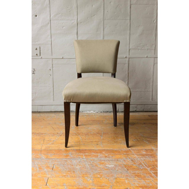 Art Deco Style Side Chair Frame - Image 7 of 11