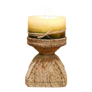 Graceful Bijani Candle Stand For Sale