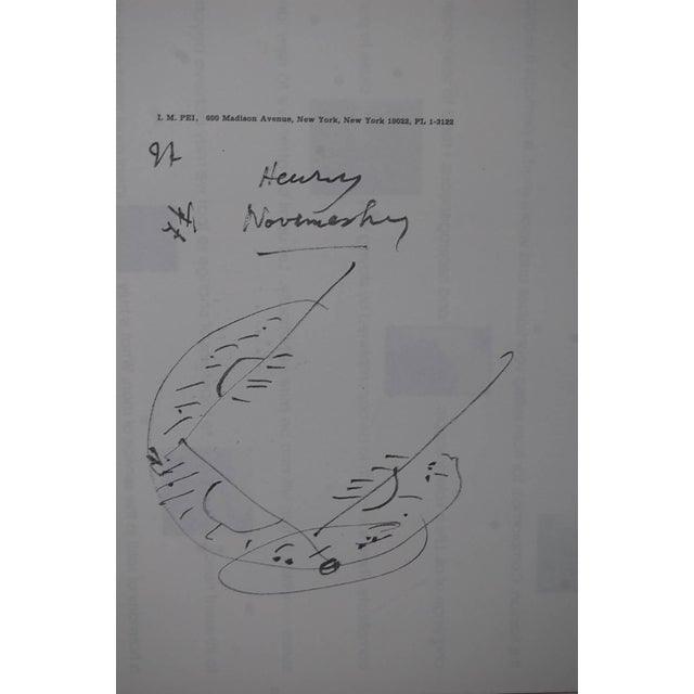 Mid 20th Century Rare Tribute Book Published for Architect i.m. Pei's 80th Birthday For Sale - Image 5 of 10
