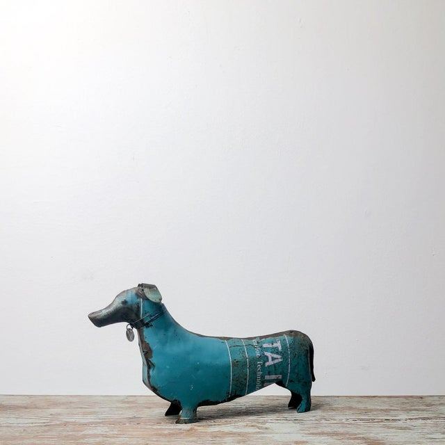 Folk Art Tole Dachshund, United States Circa 1900 For Sale In San Francisco - Image 6 of 6