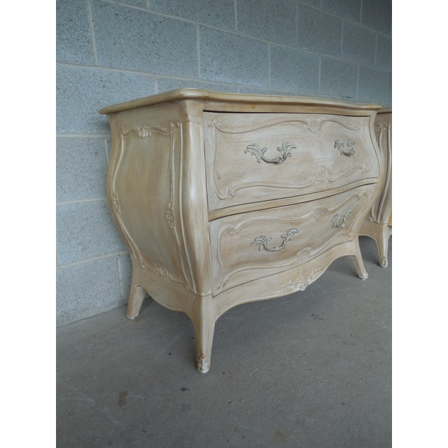 Henredon French Provincial Nightstand - Image 5 of 11