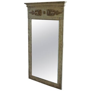 19th Century Large Empire Parisian Trumeau Mirror For Sale