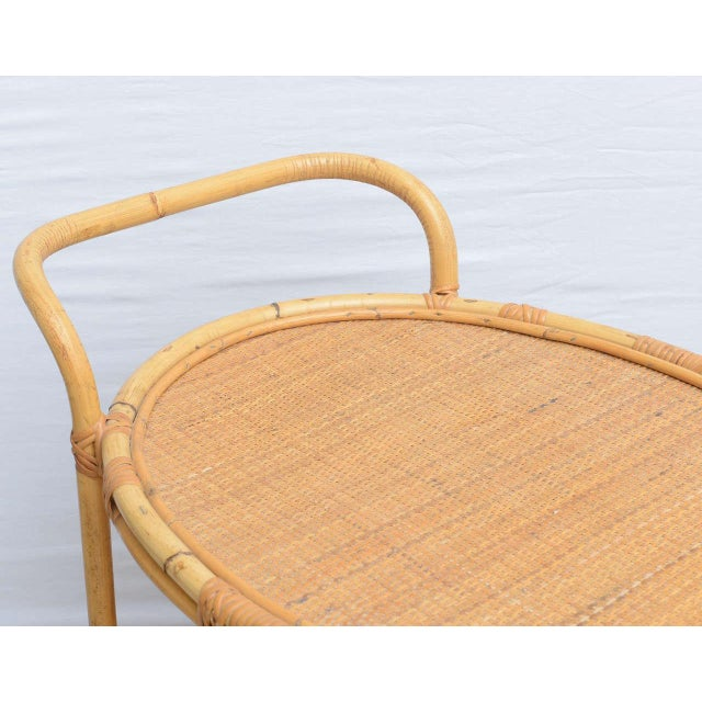Bamboo Bar Cart, Usa 1965 For Sale In Miami - Image 6 of 10