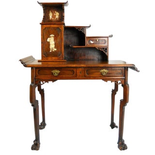 Gabriel Viardot-Attributed Japonisme Desk For Sale