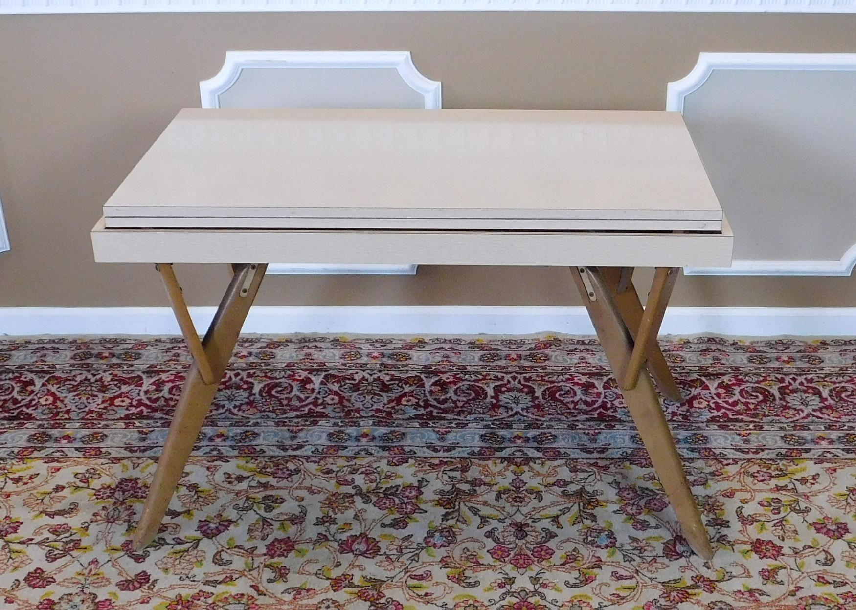 This Is A Very Fine Mid Century Table That Transforms From Dining Room  Table To. Mid Century Modern Castro Convertible ...