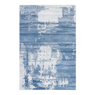 Abstract Area Rug Blue - 5'4'' x 7'7''
