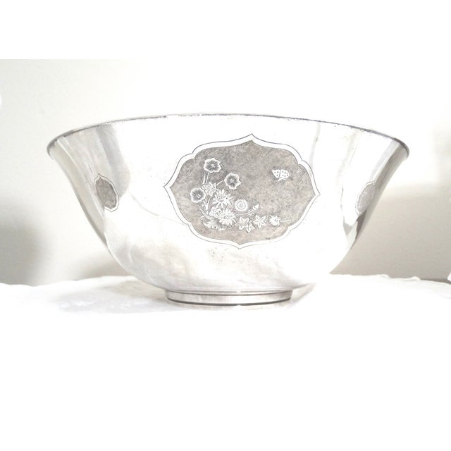 Four Seasons #155 Sterling Bowl, S. Kirk & Son - Image 5 of 9