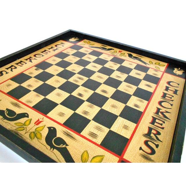 vintage blackbird checkerboard wall art chairish