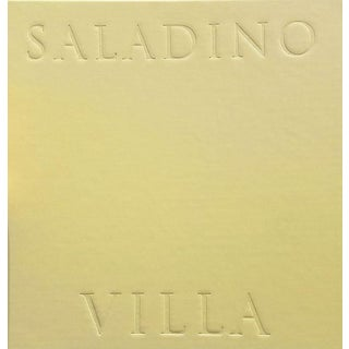 Villa by John Saladino, Leatherbound Edition For Sale