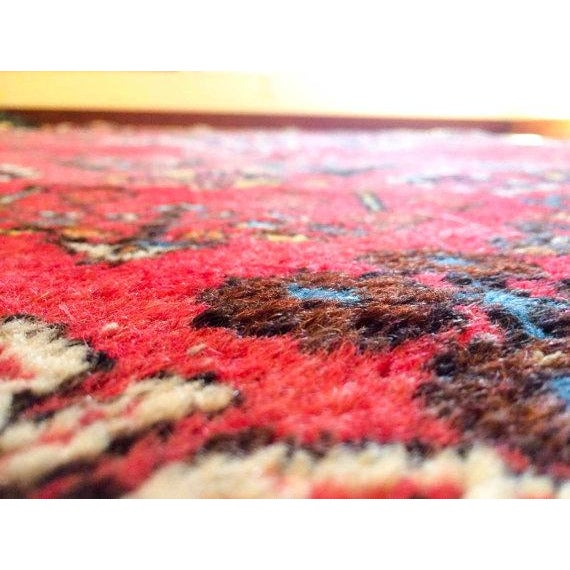 """Persian Bohemian Hand Knotted Rug - 4'3"""" x 6'9"""" - Image 5 of 6"""