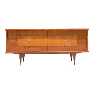 1940s French Art Deco Mahogany Sideboard/Credenza For Sale