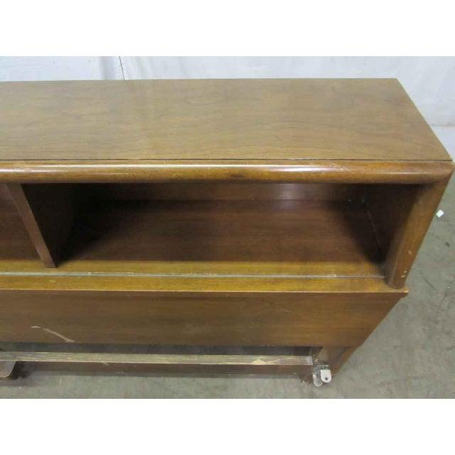 Golden Oak Headboard For Sale - Image 4 of 9
