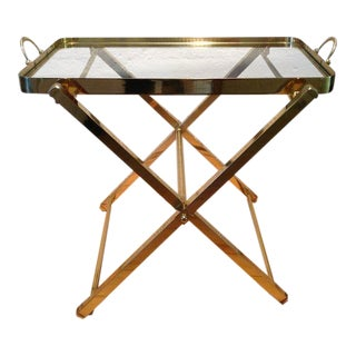 Tray on Stand by Charles Hollis Jones For Sale