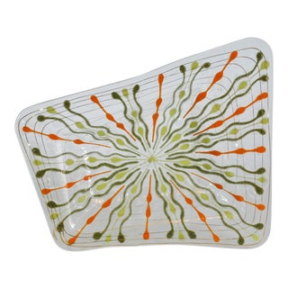 Mid-Century Modern (1957-1964) Higgins Glass Classic Variation Tray For Sale