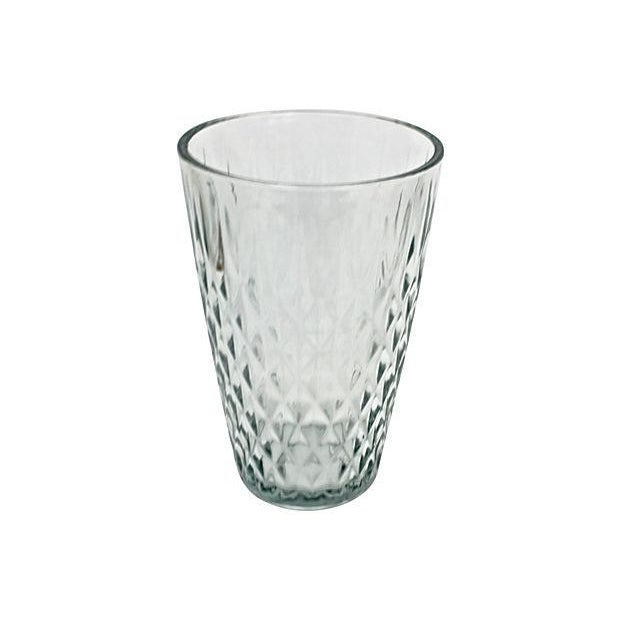 Mid Century Quilted Glass Vase - Image 2 of 5
