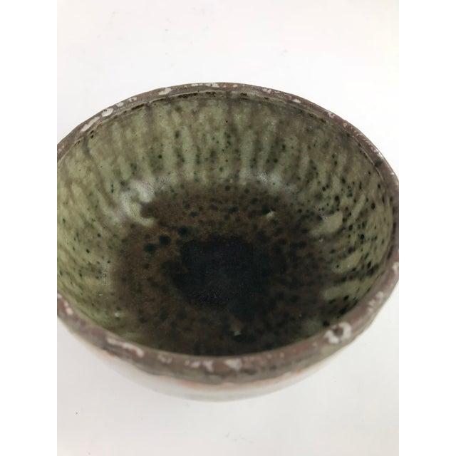 Vintage Stoneware Studio Pottery - Set of 3 For Sale - Image 4 of 13