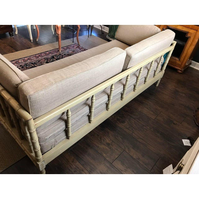 French Style Faux Bamboo Daybed - Image 2 of 6