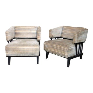 Pair of Mid-Century Modern Chairs For Sale