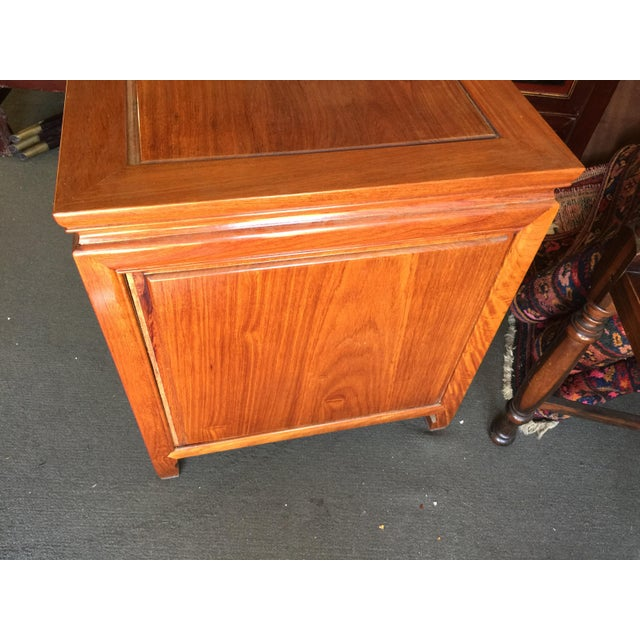 Rosewood Asian Rosewood Side Table For Sale - Image 7 of 8