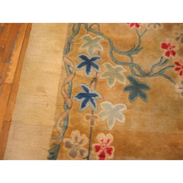 1930s Antique Chinese Art Deco Rug-11′6″ × 16′8″ For Sale - Image 5 of 7