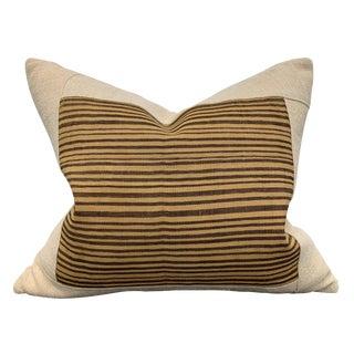Kuba Cloth Pillow For Sale