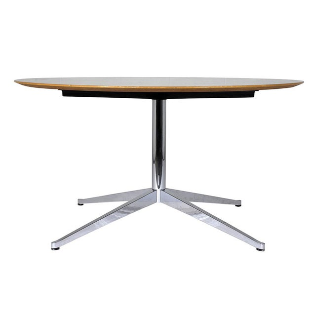 Mid-Century Modern-style Dining Table by Florence Knoll International - Image 3 of 8