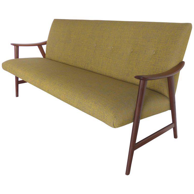 Superieur Danish Modern Adolf Relling Dokka Møbler Teak Sofa For Sale   Image 11 Of 11