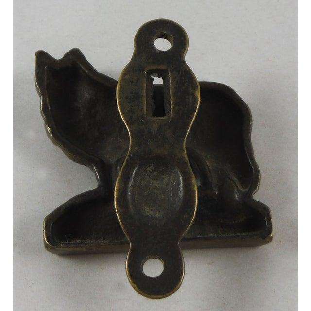 Brass Collie Dog Door Knocker - Image 3 of 4