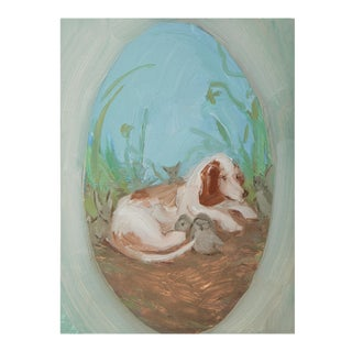 Baby Animals Giclee Art Print by Michelle Farro For Sale