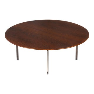Rosewood Parallel Bar Coffee Table by Florence Knoll For Sale