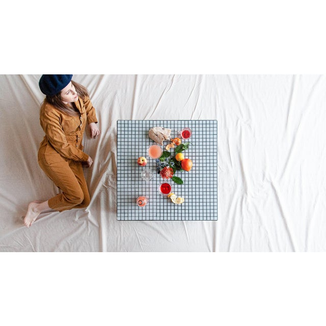 Superstudio Coffe Tiled Table For Sale - Image 9 of 10